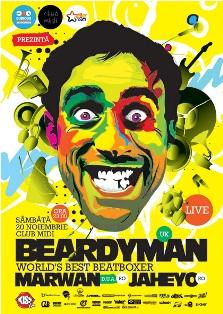 Beardyman revine la Club Midi
