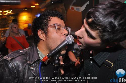 Poze: Davila 666 & Acid Baby Jesus @ Booha Bar