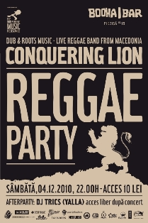 Conquering Lion @ Booha Bar