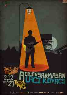 Adrian Sarmasan si Laci Kovacs @ Irish & Music Pub