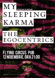 My Sleeping Karma @ Flying Circus Pub