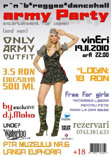 Army Party @ Club Waterloo
