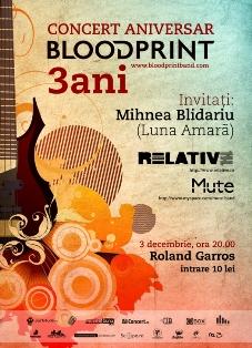 Blood Print @ Roland Garros
