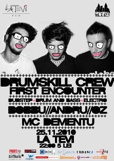 Drumskill Crew – First Encounter @ La Tevi Pub