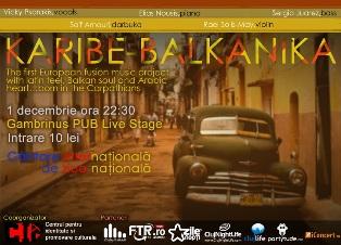 Karibe-Balkanika @ Gambrinus Pub
