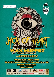 Jack of Heart & Wax Muppet @ La Gazette