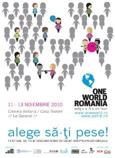 One World Romania – editia a 3-a