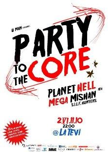Party to the Core @ La Tevi Pub