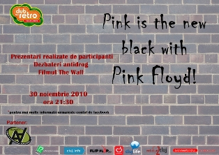 Pink is the new black with Pink Floyd
