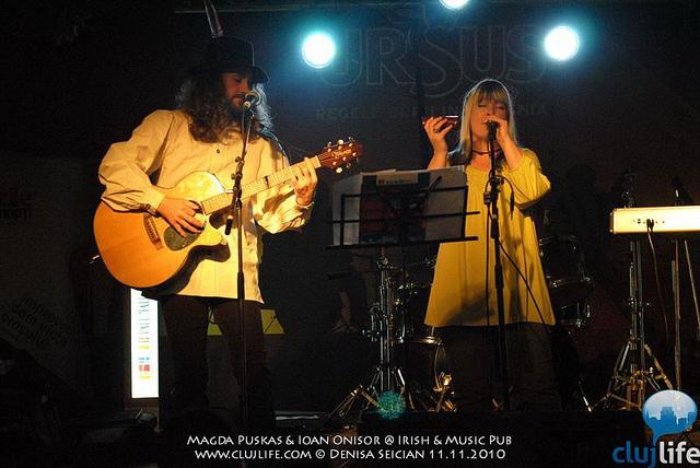 Poze: Magda Puskas & Ioan Onisor @ Irish & Music Pub