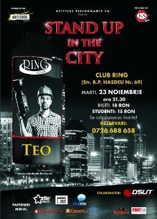 Standup Comedy cu TEO @ Club Ring