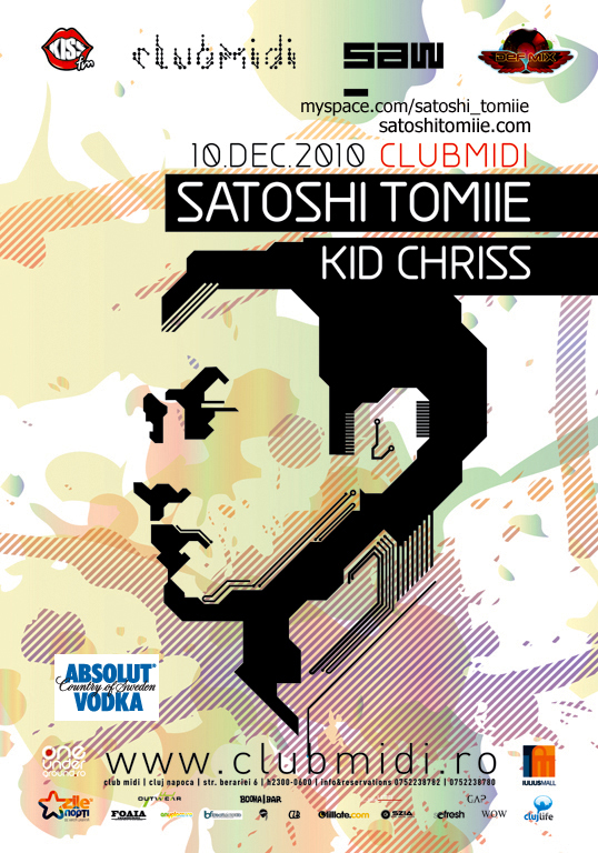 Satoshi Tomiie @ Club Midi