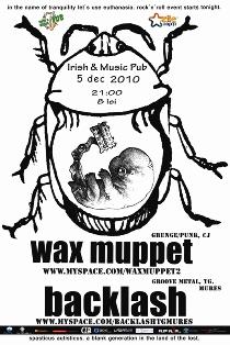 Wax Muppet @ Irish & Music Pub