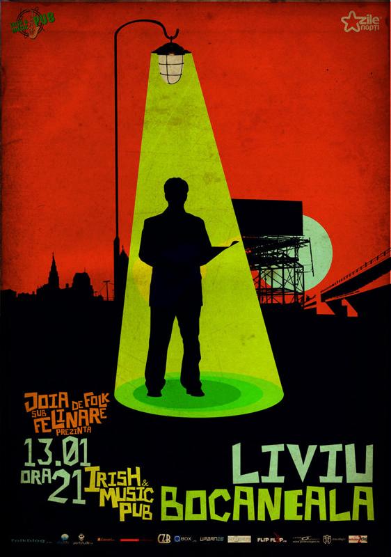 Liviu Bocaneala @ Irish & Music Pub