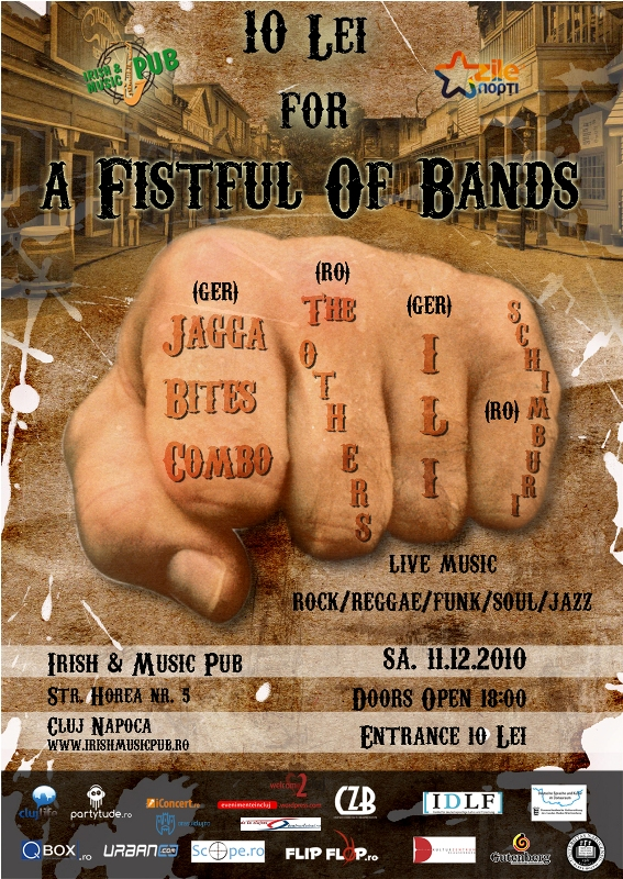 A Fistful of Bands @ Irish & Music Pub