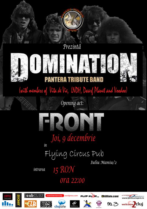 Domination & Front @ Flying Circus Pub