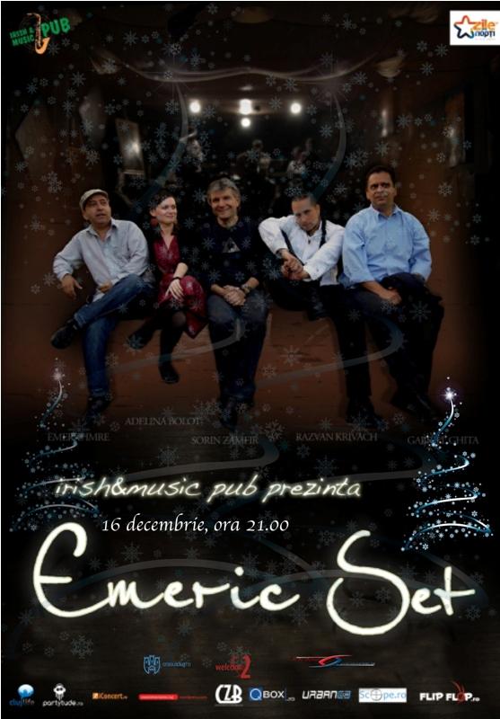 Emeric Set @ Irish & Music Pub