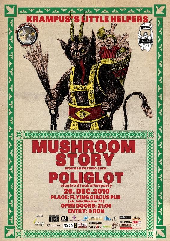 Mushroom Story & Poliglot @ Flying Circus Pub