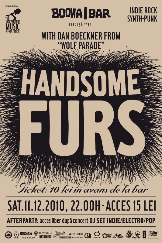 Handsome Furs @ Booha Bar