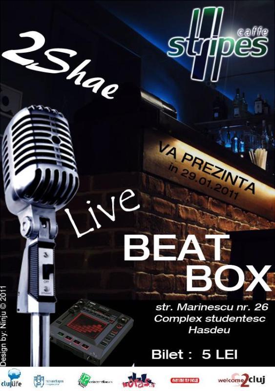 Live Beatbox @ Stripes Caffe