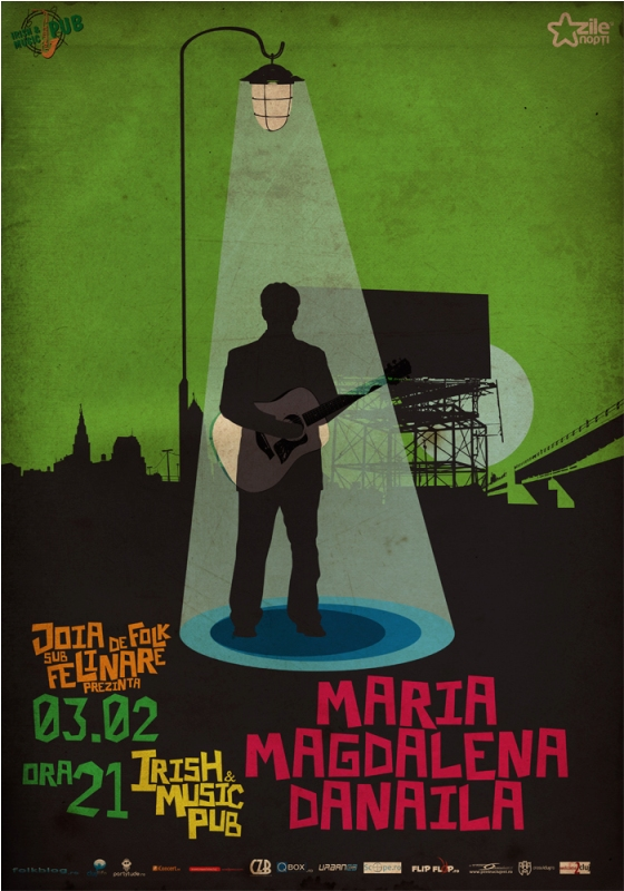 Maria Magdalena Danaila @ Irish & Music Pub