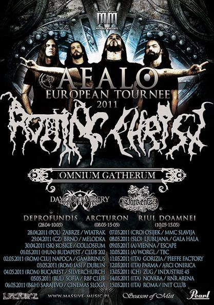 Rotting Christ @ Gambrinus Pub