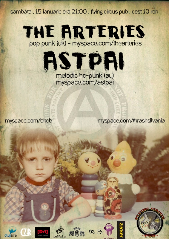 Astpai & The Arteries @ Flying Circus Pub