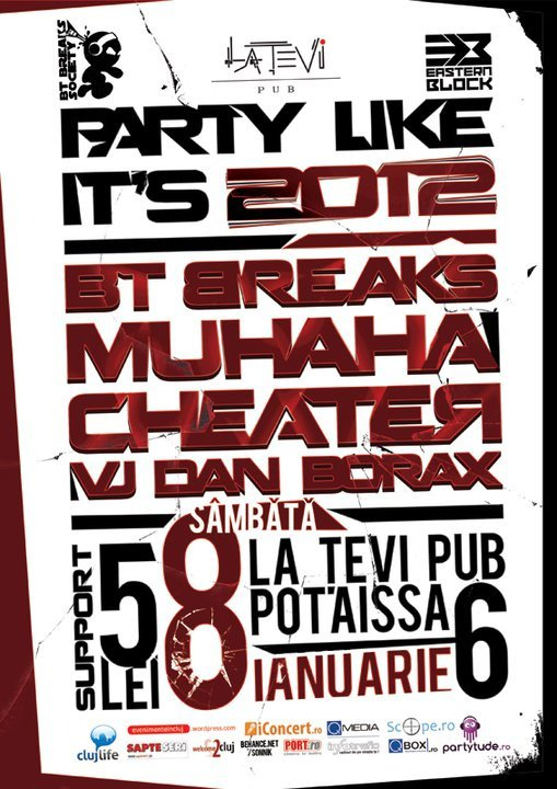 Party Like it's 2012 @ La Tevi Pub