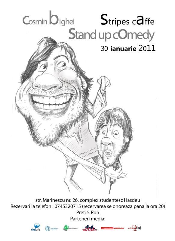 Standup Comedy cu Cosmin Bighei