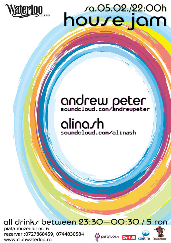 Andrew Peter & Alinash @ Club Waterloo
