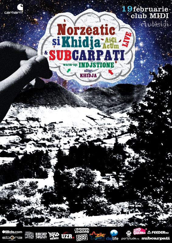 Norzeatic & Khidja @ Club Midi