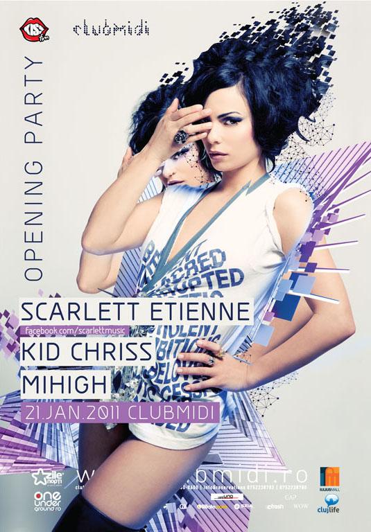 Scarlett Etienne @ Club Midi – opening party