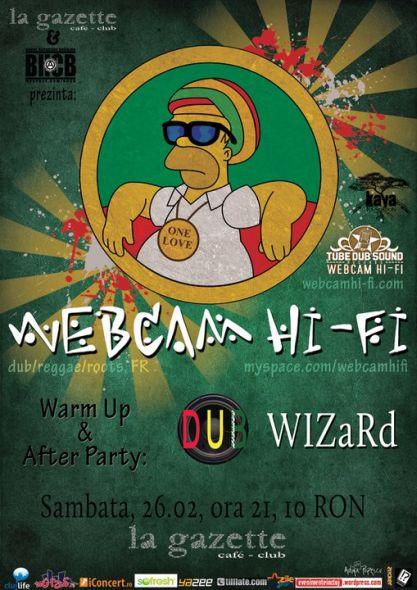 Webcam Hi-Fi @ La Gazette