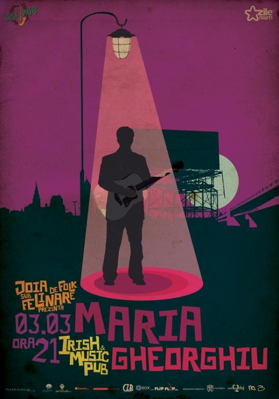 Maria Gheorghiu @ Irish & Music Pub