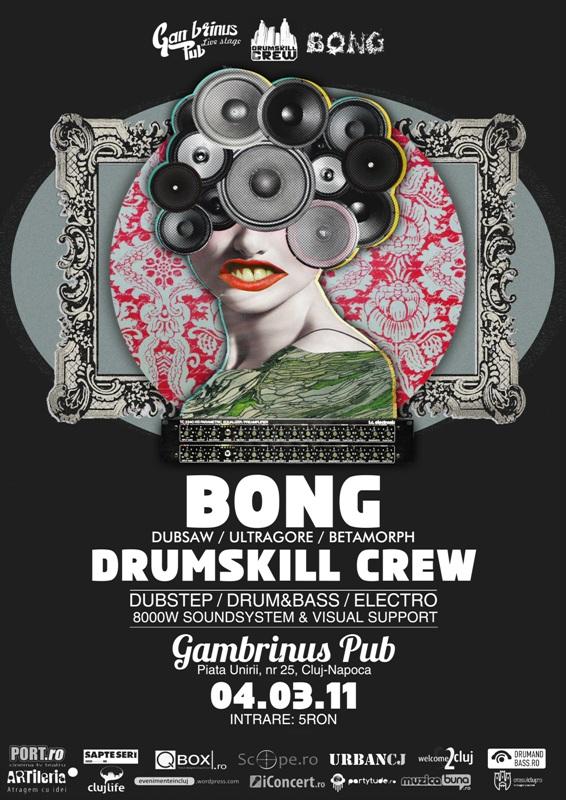 Drumskill Session: Bong @ Gambrinus Pub