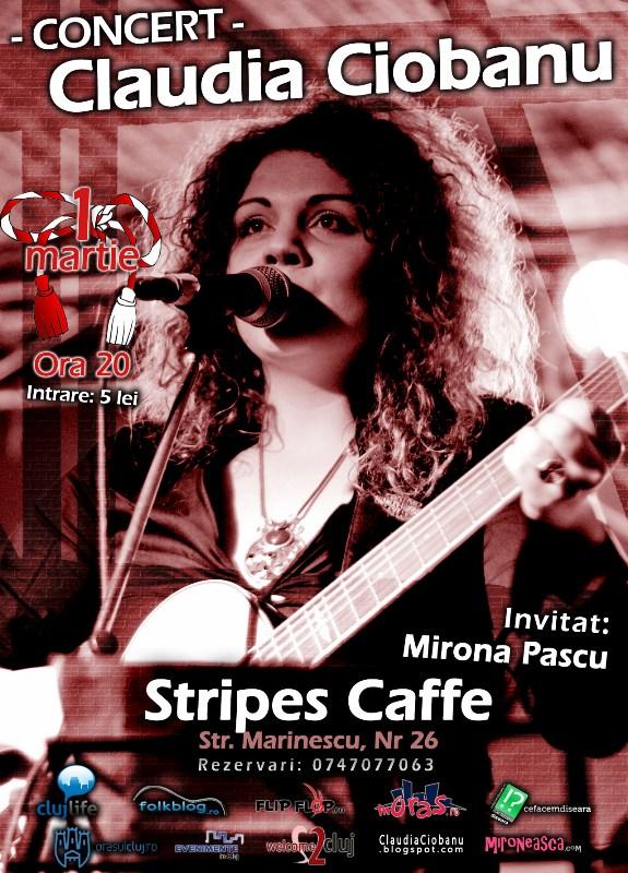Claudia Ciobanu & Mirona Pascu @ Stripes Caffe