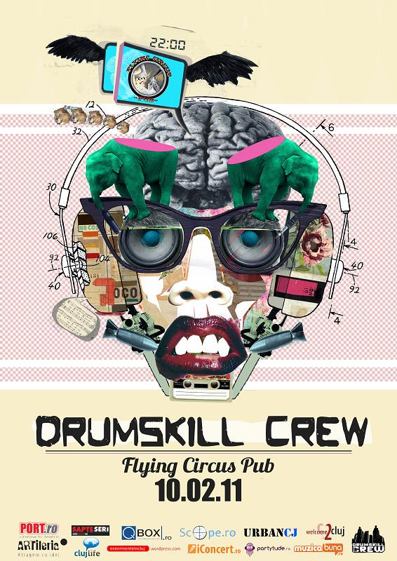 Drumskill Crew @ Flying Circus Pub
