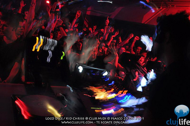 Poze: Loco Dice / Kid Chriss @ Club Midi