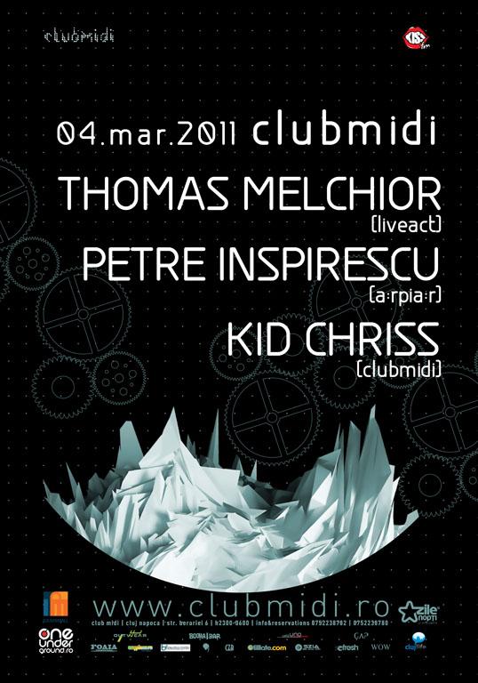 Thomas Melchior / Petre Inspirescu @ Club Midi