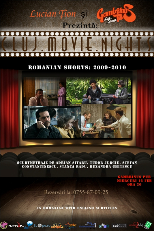 Romanian Shorts @ Gambrinus Pub
