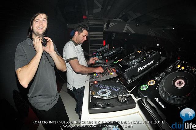 Poze: Rosario Internullo & Kid Chriss @ Club Midi