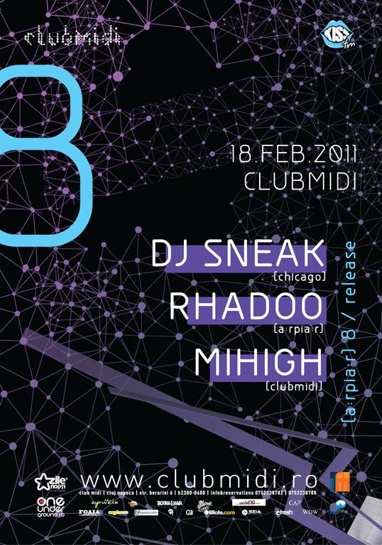 DJ Sneak & Rhadoo @ Club Midi