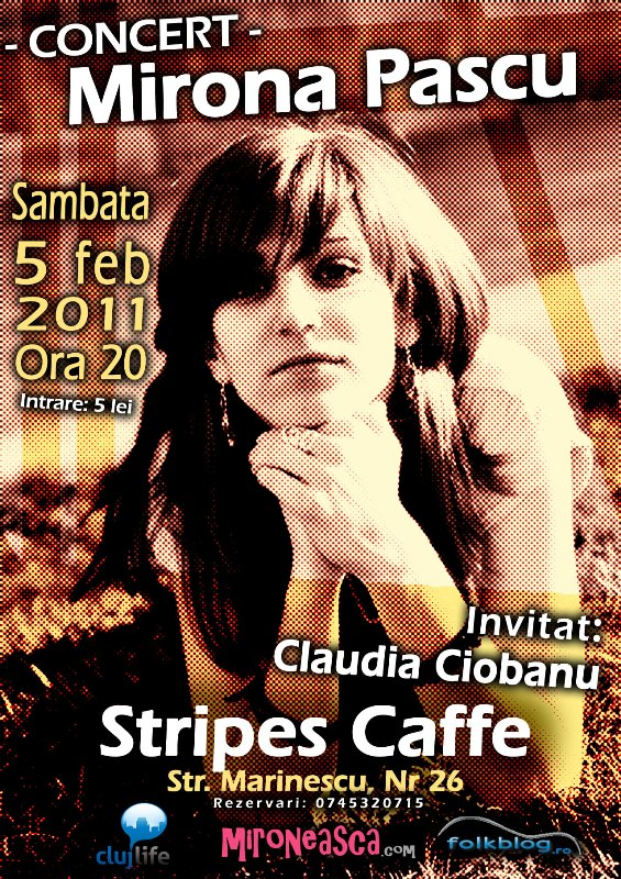 Mirona Pascu @ Stripes Caffe