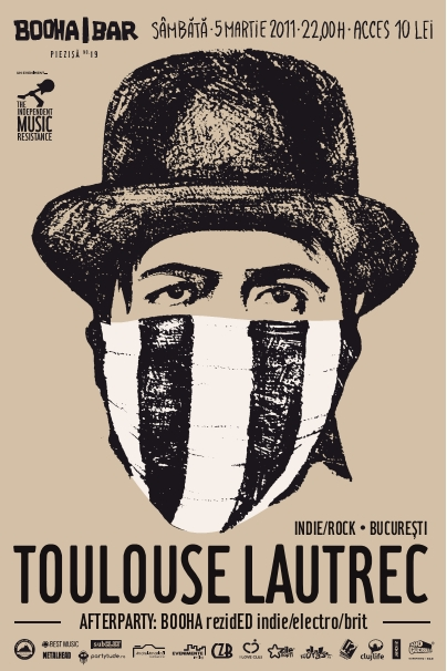Toulouse Lautrec @ Booha Bar