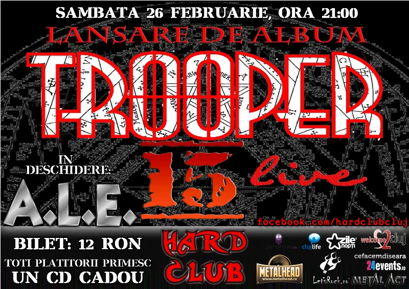 Trooper @ Hard Club