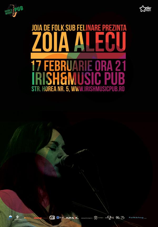 Zoia Alecu @ Irish & Music Pub