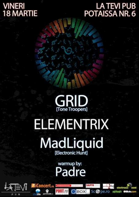 Grid / Elementrix @ La Tevi Pub