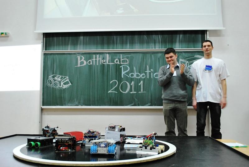 Bazinga a castigat BattleLab Robotica