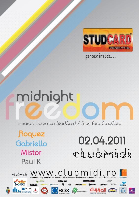 Midnight Freedom @ Club Midi
