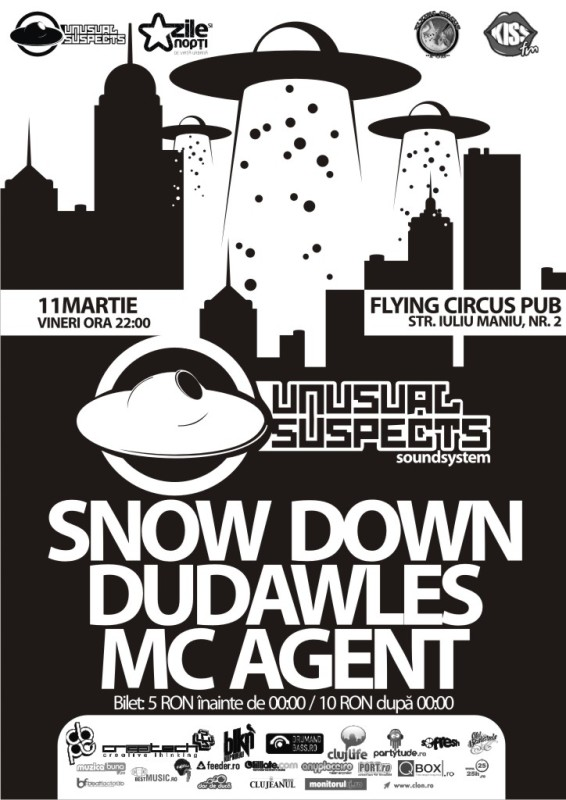 Unusual Suspects @ Flying Circus Pub
